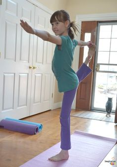 GREAT POST! Yoga for Kids: Daily Practice, Books, Videos, Games