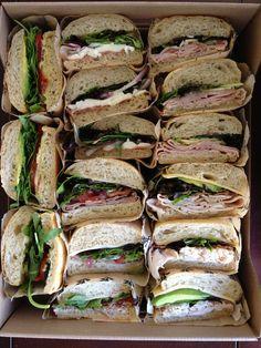 Sandwich Platter www.eathomegrown.com/catering