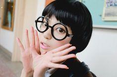 0b1092312735 Harry Potter Frames  Love the nerd chic! Nerd ChiqueMeninas Com ÓculosVidro  RedondoHarry PotterQuadrosÓculos · Penteados Mulher VipPenteados Geek Nerd