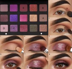 deepest eye makeup, easy step-by step makeup ideas,simple eye makeup for begin. - deepest eye makeup, easy step-by step makeup ideas,simple eye makeup for begin… - Matte Eye Makeup, Prom Eye Makeup, Bronze Eye Makeup, Eye Makeup Steps, Contour Makeup, Smokey Eye Makeup, Eyeshadow Makeup, Colorful Eye Makeup, Simple Eye Makeup