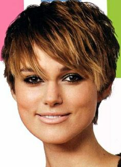 short hair style short hairstyles. Ombré tips.