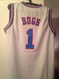 Canotta nba basket maglia BUGS jersey Tunesquad Space Jam S M L XL 559e4e791b59