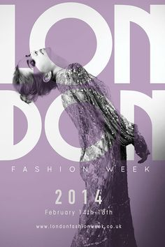 London Fashion Week Poster on Behance