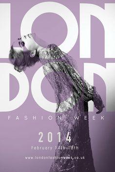 London Fashion Week Poster on Behance