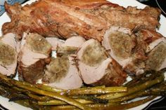 Stuffed pork tenderloin may sound a bit fancy for the cottage but this recipe is easy to prepare, cooks quickly and tastes great. Easy Recipes, Easy Meals, Stuffed Pork, Pork Tenderloin Recipes, Cabin, Dinner, Cooking, Food, Easy Keto Recipes