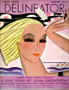 1929 cover for the Delineator magazine.