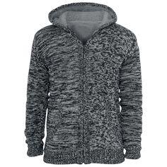 """Gevoerd en gebreid """"Winter Knit Zip Hoodie"""" vest met capuchon van R.E.D. by EMP:  - teddyvoering van 100% polyester - 2 steekzakken  Met het grijze """"Winter Knit Zip Hoodie"""" vest van R.E.D. by EMP heb jij het nooit meer koud. Met name de teddyvoering houdt je lekker warm, met dit vest zie je er gewoon waanzinnig uit!"""