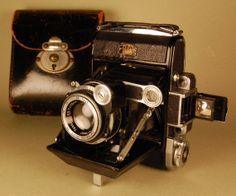 Custom Ihagee EXAKTA VX camera & Zeiss Tessar
