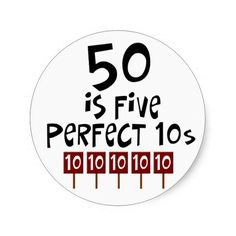 >>>Order          	50th birthday gifts, 50 is 5 perfect 10s! sticker           	50th birthday gifts, 50 is 5 perfect 10s! sticker We have the best promotion for you and if you are interested in the related item or need more information reviews from the x customer who are own of them before pleas...Cleck Hot Deals >>> http://www.zazzle.com/50th_birthday_gifts_50_is_5_perfect_10s_sticker-217006666610199126?rf=238627982471231924&zbar=1&tc=terrest