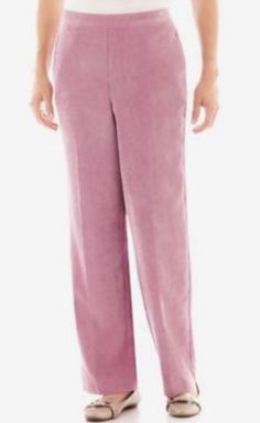 8d433dcd83cc7 Alfred dunner glacier lake pants - raspberry - size 18 proportioned short