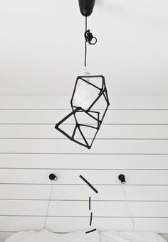 Try-this-at-Home Charcoal Hanging Mobile by emmas.blogg.se     DIY