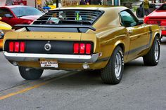 Classic 1969 Ford Mustang Boss 302 Fastback - Digital Photo Download - Digital Photograph - Automobile Art
