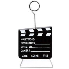 Clapboard Photo/Balloon Holder for $3.53 in Hollywood - Theme Parties - Theme & Event Parties