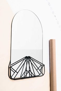 'Vanity Affair' mirror by Giorgia Zanellato from Italy for the 'Extra-Ordinary Gallery' Collection for Fabrica.