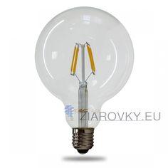 FILAMENT žiarovka - SPHERE - E27, Teplá biela, 6W, 550lm, V-TAC Led Filament, Light Bulb, Lighting, Home Decor, Color Temperature, Decoration Home, Room Decor, Light Globes, Lights