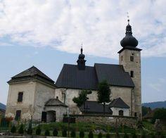 Liptovský Ján - kostol Sv.Jána Krstiteľa