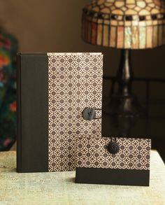 journal and card case by paulballe