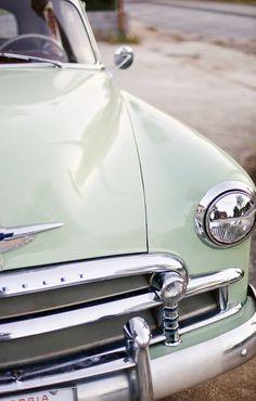 25 New Ideas For Dream Cars Vintage Mint Green Cars Vintage, Retro Cars, Vintage Sport, Antique Cars, Sportster 1200, Harley Davidson Sportster, Dream Cars, Car Bonnet, Cb 450