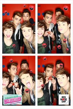 Union J for Red Nose Day Josh Cuthbert, George Shelley, Red Nose Day, Man Crush Everyday, British Boys, Disney Music, New Bands, Famous Singers, 1d And 5sos