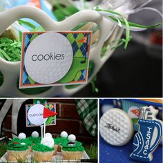 Super Cute & Creative Golf Themed Birthday // Hostess with the Mostess®