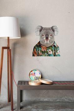 Zoo Portraits: Koala wall decal X Blik