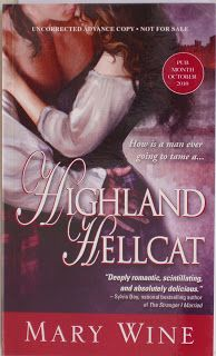 Books and Quilts: HIghland Hellcat by Mary Wine