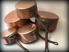 Love french copper cookware
