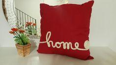 Cuscino con scritta tricotin