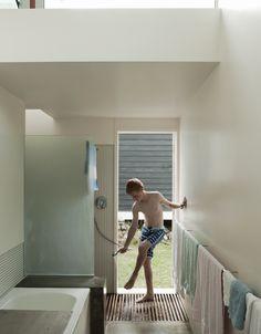 """beachouse indoor/""""outdoor"""" bathroom"""