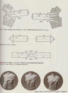 Pattern magic vol. Japanese Sewing Patterns, Dress Sewing Patterns, Clothing Patterns, Pattern Making Books, Pola Lengan, Pattern Draping, Modelista, Collar Pattern, Pattern Cutting