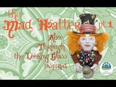 The Mad Hatter pt.1 - Alice Through the Looking Glass inspired - Polymer...