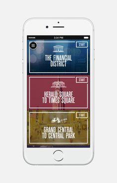 Dribbble - UrbanWalks_AppScreen_01.png by Anton Repponen