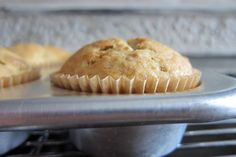 Sour Cream Banana Muffins - The Yellow Table