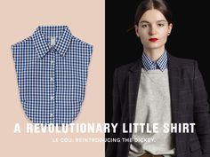 Le Cou re-introduces the dickey as a beautiful, practical, and chic wardrobe basic.