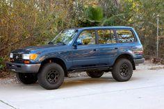 1996_FZJ80.  TLC 4x4  Restoration. Corvette Engine, Old Man Emu OME,  Black Rock Rims 80 series Toyota