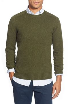 Free shipping and returns on Duck Head 'Boone' Crewneck Sweater at Nordstrom.com. A rib-framed crewneck sweater knit from a plush lambswool blend is a cool-climate layering staple with work-to-weekend versatility.