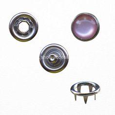 China Custom Fashion Shirt Snap Button Pearl Prong Fastener Manufacturers