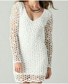 Knitting, Tops, Women, Fashion, Crochet Dresses, Tricot, Exit Slips, Moda, Fashion Styles