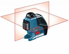 7. Bosch GLL 3-80 3 Plane Leveling Alignment Laser