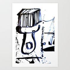 Brush Art Print by Plasmodi - $17.00 Photo Art, Street Art, Art Prints, Art Impressions, Fine Art Prints, Art Print