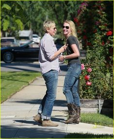 I love that they not only #love each other but #like each other. I just love their love #ellen and #portia :)