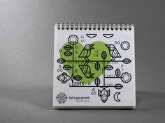 Let's Go Green Brand Identity on Behance