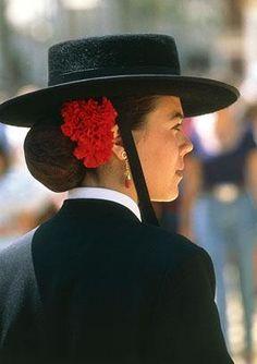 the Spanish look