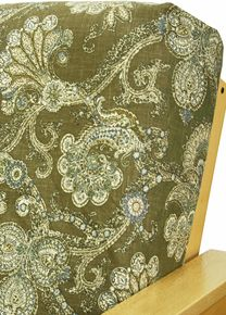 hidden treasure futon cover offers luxurious woven paisley pattern on a rich palmer green background with accents in cream green and powder blue  kensington floral futon cover is a charming traditional pattern      rh   pinterest
