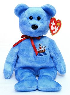 Nina - Bear - Ty Beanie Babies