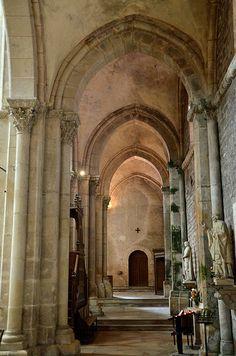 Collégiale Saint-Lazare. Avallon (Yonne) - Bourgogne