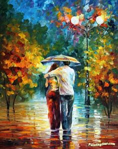 Invitation Artwork by Leonid Afremov Hand-painted and Art Prints on canvas for sale,you can custom the size and frame