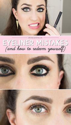 //The five eyeliner mistakes you probably didn't know you're making. #make-up