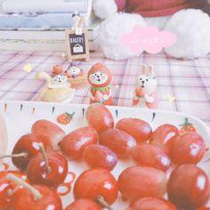 微博 Bakery, Vegetables, Sweet, Cute, Food, Meal, Bakery Shops, Kawaii, Essen