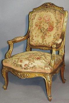 King Louie XV furniture